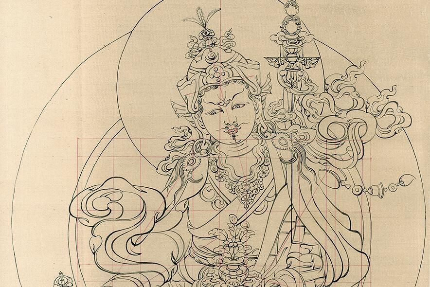 падмасамбхава, гуру, дзогчен, искусство танка, дудко