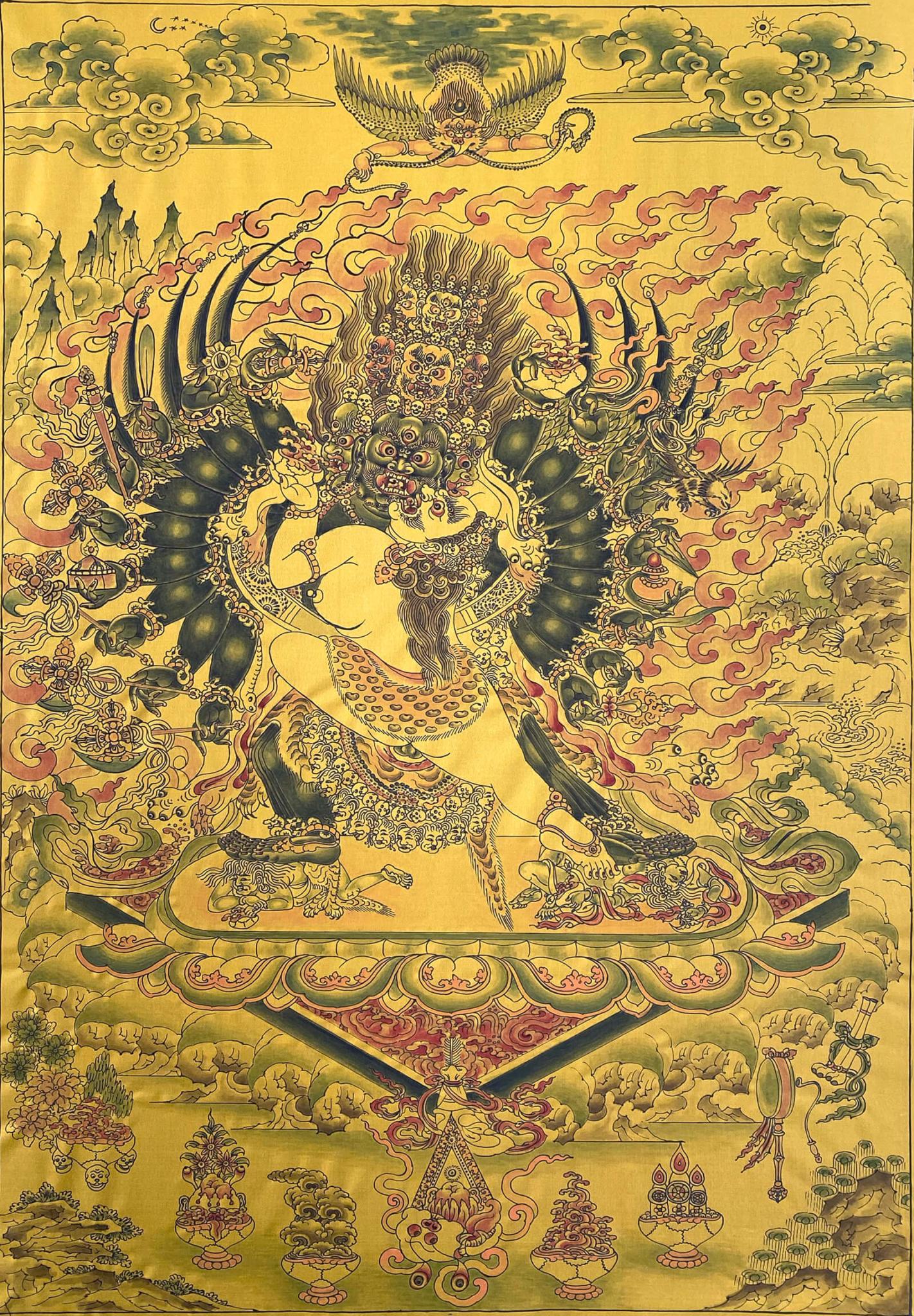 махоттаракила, тантра, дзогчен, искусство танка, дудко