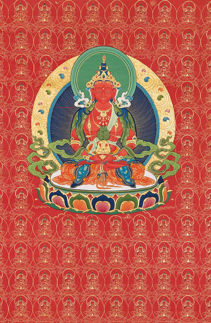 amitayus, bodhisattva, long life