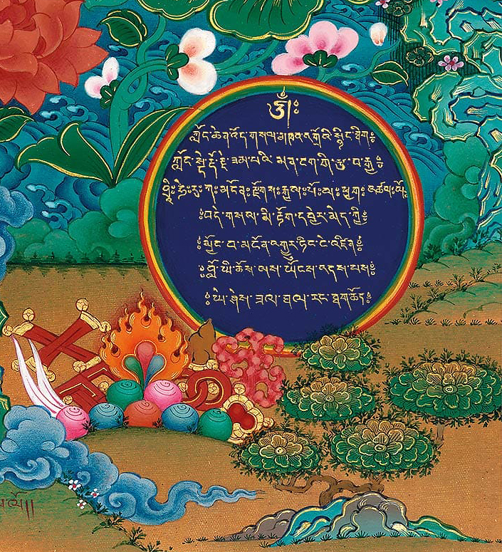 thangka, buddhist art