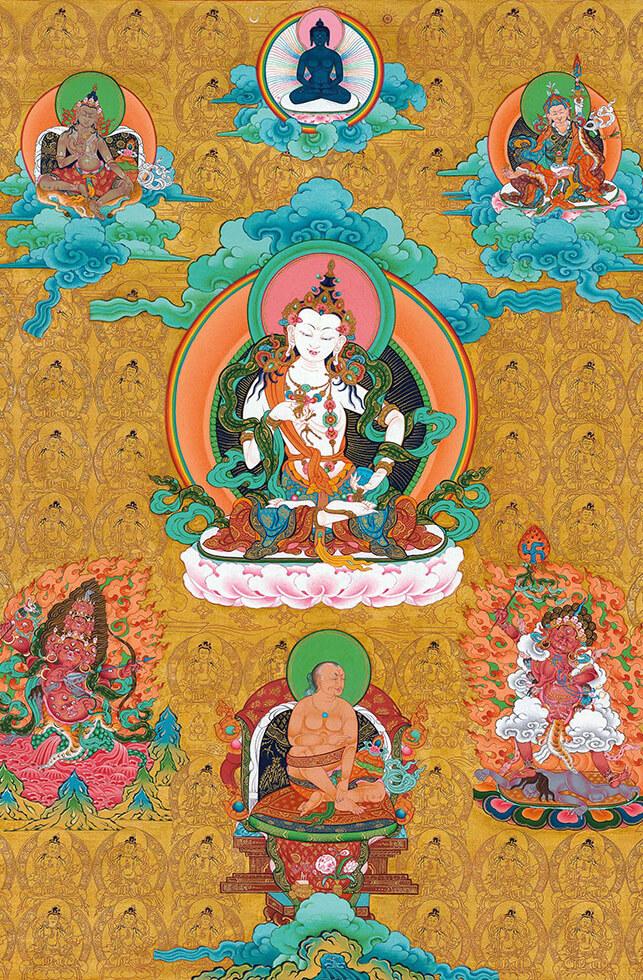 vajrasattva, dzogchen