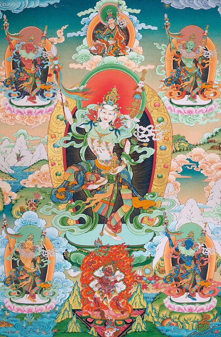 dzogchen, mandarava, namkhai norbu