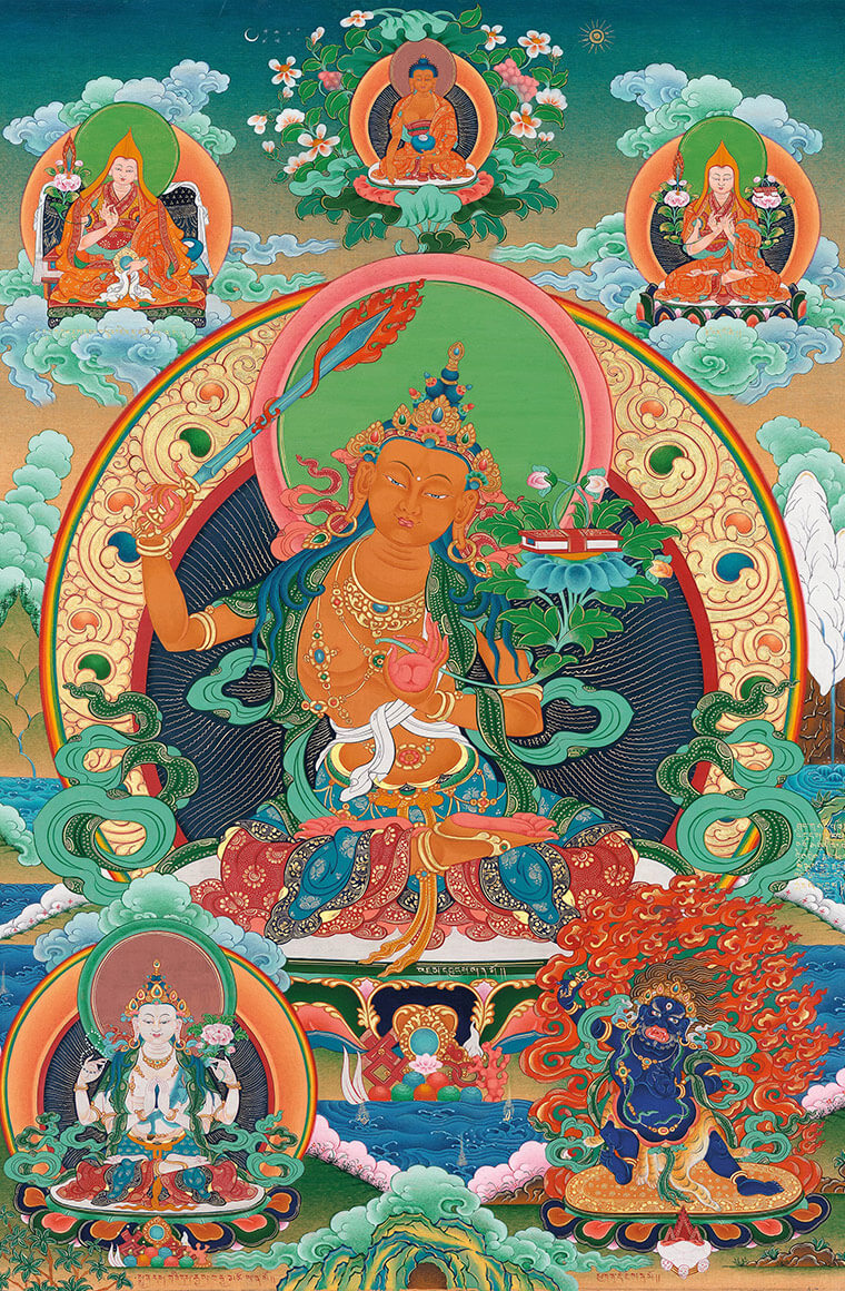 manjushri, bodhisattva