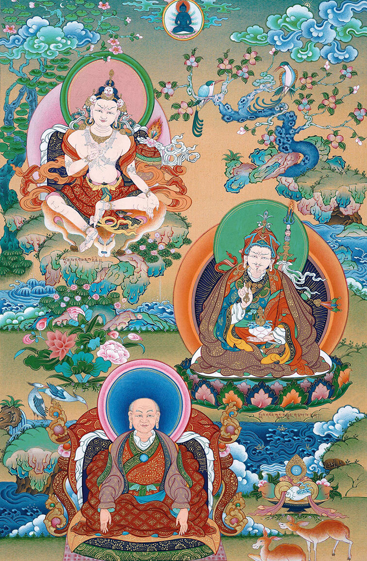 dzogchen teachers, masters