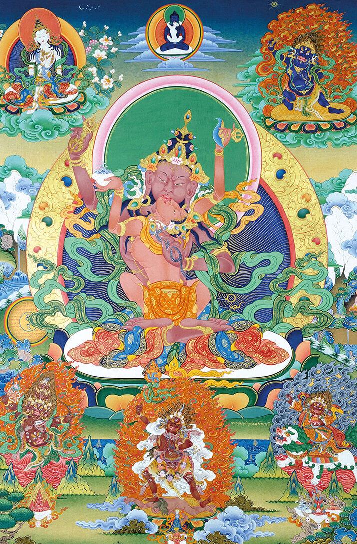 vajrapani, dzogchen